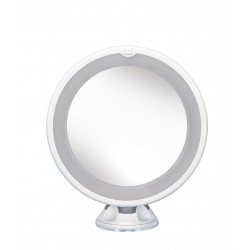 Lustro łazienkowe Flexi Light Mirror White Kleine Wolke