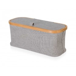 Pojemnik Move Bamboo Canvas Grey S