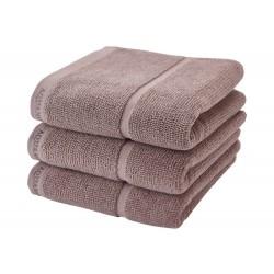 Ręcznik kąpielowy Adagio taupe 70x130 Aquanova