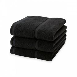 Ręcznik kąpielowy Adagio Black 70x130