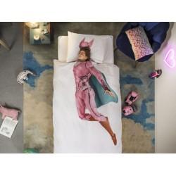 Pościel Snurk Super Hero Pink 140x200