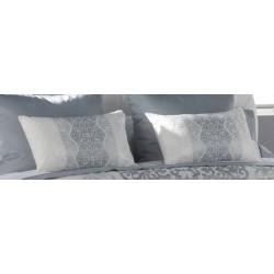 Poduszka JVR Tejidos Glamour Silver 50x60
