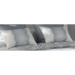 Poduszka JVR Tejidos Chantilly Silver 30x50