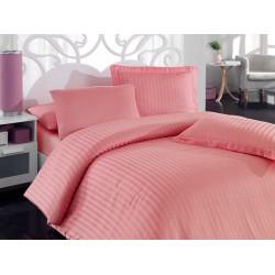 Pościel bambusowa Hobby Stripe Pink 200x220