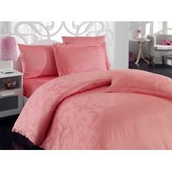 Pościel bambusowa Hobby Chichek Pink 200x220