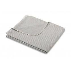 Koc bawełniany Biederlack Everywhere Silver 150x180