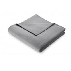 Koc bawełniany Biederlack Smooth Elegance Graphit 150x200