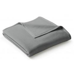 Koc bawełniany Biederlack Uno Cotton Graphit 150x200