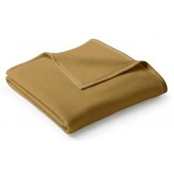 Koc bawełniany Biederlack Uno Cotton Kamel 220x240