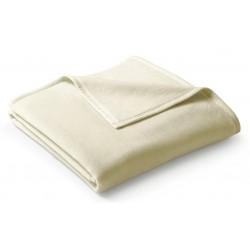 Koc bawełniany Biederlack Uno Cotton Natur 150x200