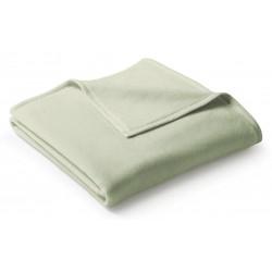 Koc bawełniany Biederlack Uno Cotton Salbei 150x200