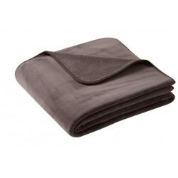 Koc Biederlack Pure Soft Braun 150x200