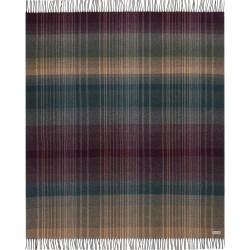 Koc wełniany Biederlack Striped Check 130x170