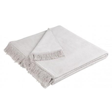 Narzuta bawełniana Biederlack Cover Cotton Silber 50x200