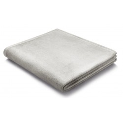 Pled bawełniany Biederlack Pure Cotton Eis 150x200