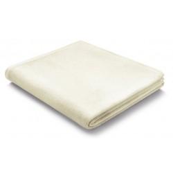 Pled bawełniany Biederlack Pure Cotton Natur 150x200