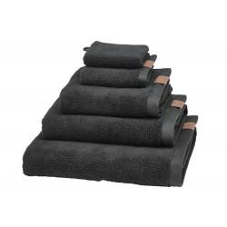 Ręcznik Aquanova Oslo Organic Antrazit 70x130