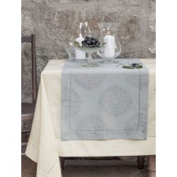 Obrus żakardowy Bovi Palace Grey 170x300