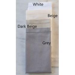 Serwetki Bovi Emy Ajour White 6 szt. 50x50