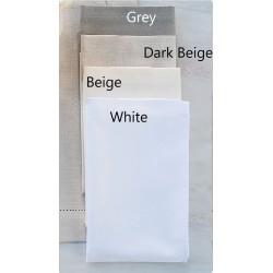Serwetki Bovi Emy Plain White 4 szt 50x50