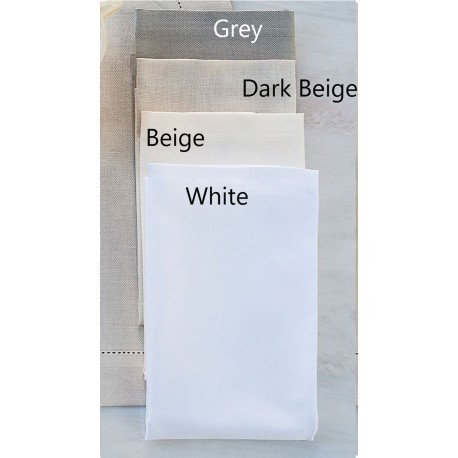 Serwetki Bovi Emy Plain White 6 szt 40x40