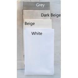 Serwetki Bovi Emy Plain White 6 szt 50x50