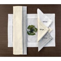 Serwetki Bovi Palace Ajour White 4 szt 50x50