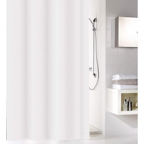 Zasłona prysznicowa Sparkle White 180x200 Kleine Wolke