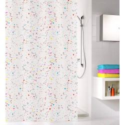 Zasłona prysznicowa Confetti 180x200 Kleine Wolke