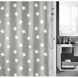 Zasłona prysznicowa Nova Grey 180x200 Kleine Wolke