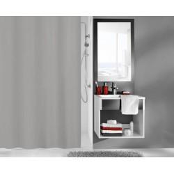 Zasłona prysznicowa Kito Grey 180x200 Kleine Wolke