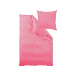 Pościel Curt Bauer Uni Pink 135x200