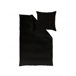 Pościel Curt Bauer Uni Black 155x220