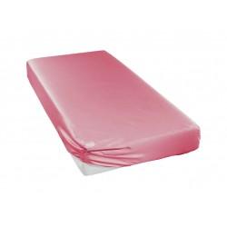 Prześcieradło Curt Bauer Uni Pink 100x200