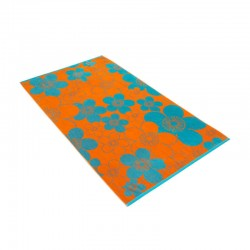 Ręcznik plażowy Vossen Flower Mood Orange