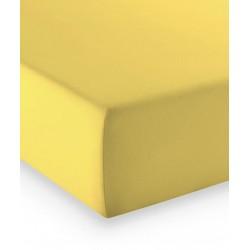 Prześcieradło Fleuresse Comfort Yellow