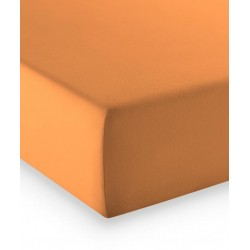 Prześcieradło Fleuresse Comfort Orange