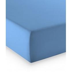 Prześcieradło Fleuresse Comfort Blue Medium