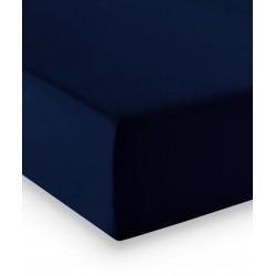 Prześcieradło Fleuresse Comfort Dark Blue