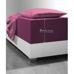 Prześcieradło Fleuresse Comfort XL Raspberry