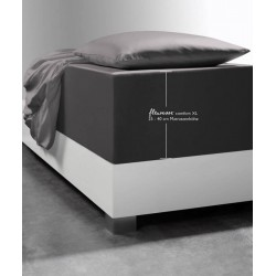 Prześcieradło Fleuresse Comfort XL Anthracite
