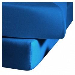 Prześcieradło Fleuresse Colours z gumką Sea Blue