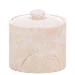 Pojemnik na płatki kosmetyczne Kela Marble