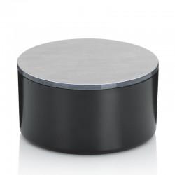 Pojemnik kosmetyczny z lusterkiem Kela Tilda Black