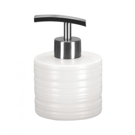 Dozownik mydła Sahara Biały S