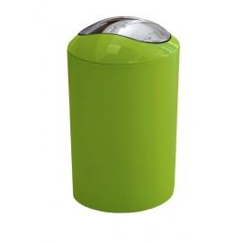 Kosz na śmieci 5L Glossy Green Kleine Wolke