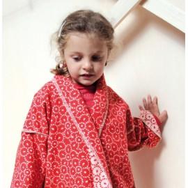 Szlafrok David Fussenegger Kimono Chicks Red 5-6l