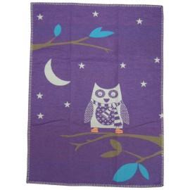 Kocyk David Fussenegger Lili 70x90 Little Owl