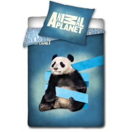Pościela Animal Planet 160x200 Miś Panda Contra